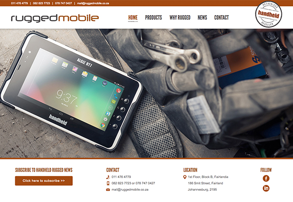 Rugged Handheld Mobile Phones, Notebooks & Computers in S A